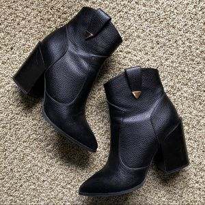 Black Western Ankle Booties 🤠